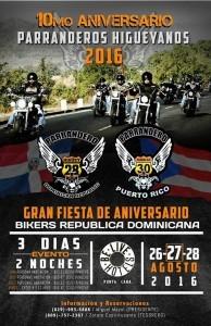 Promo 10mo Aniversario Parranderos Higueyanos Hotel