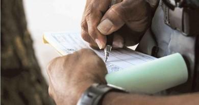 Registran reducción en las multas de tránsito