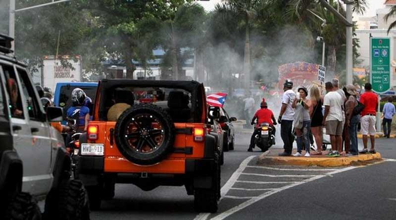 road guards, caravanas