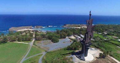 Podría abrir pronto la estatua de Colón en Arecibo