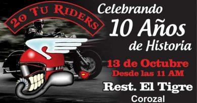 Aniversario 20 Tú Riders