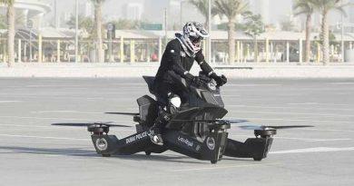 La moto voladora de Hoversurf