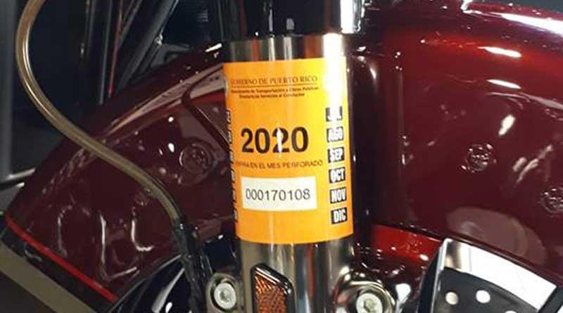 Nuevos marbetes para el 2020