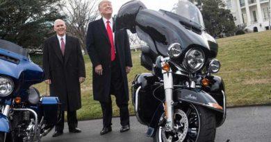 Harley Davidson, Trump