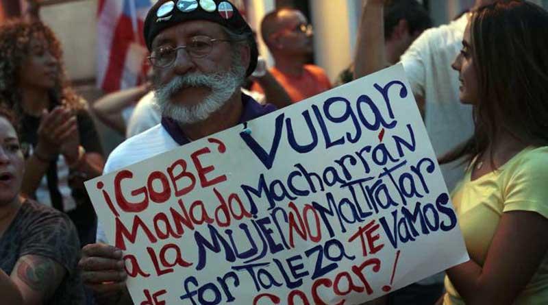 Manifestantes cierran la PR-2 en Mayagüez
