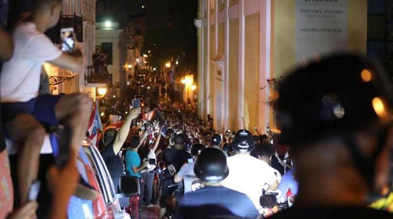 entraron al Viejo San Juan al burlar los agentes