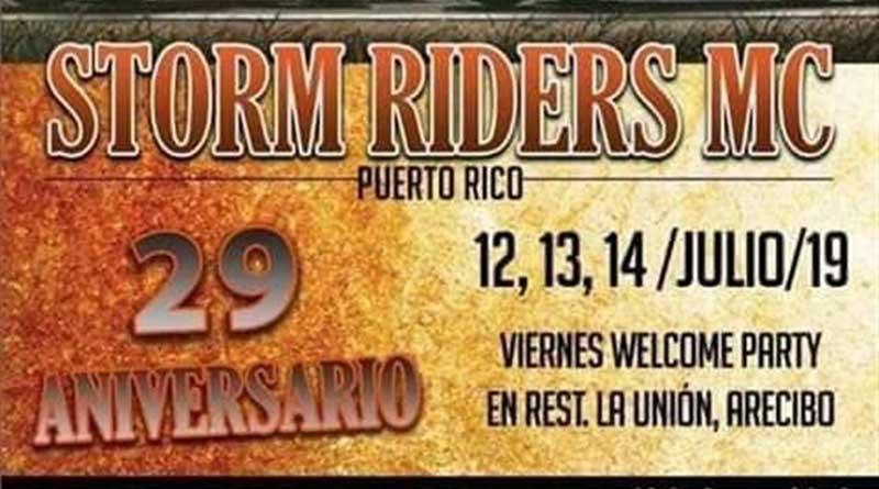 29 Aniversario Storm Riders