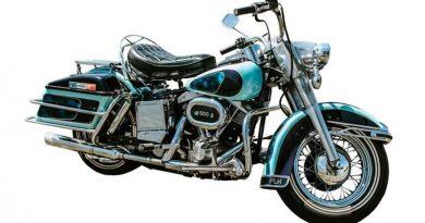 La Harley Electra Glide de Elvis Presley