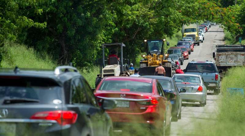 pésimo estado de carreteras