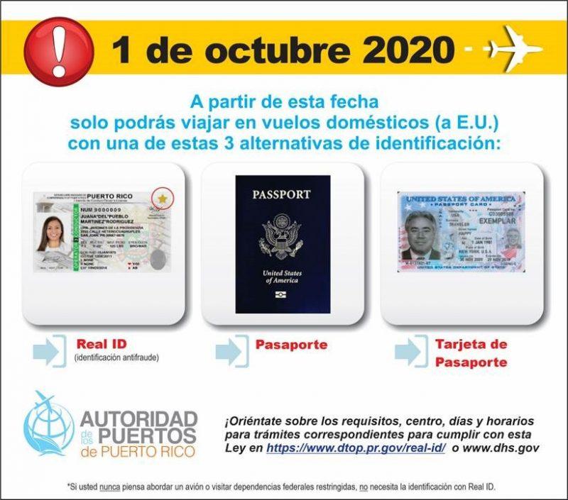 Real ID, 2020, Octubre