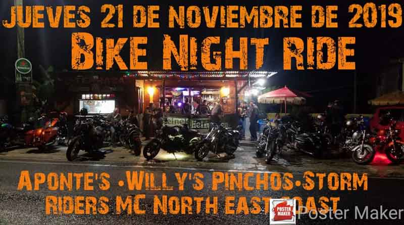 Aponte's Bike Night Ride
