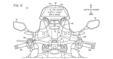 Honda Visor, Head-up Display, HUD