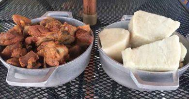 Festival del ñame y la carne frita en Villalba
