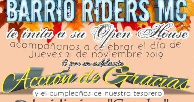 Open House Barrio Riders MC