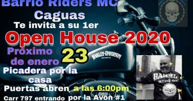 Barrio Riders Open House 2020