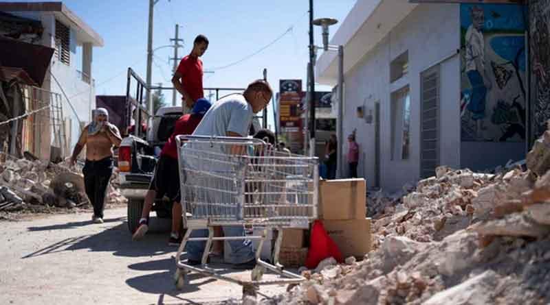 Víctimas de terremotos