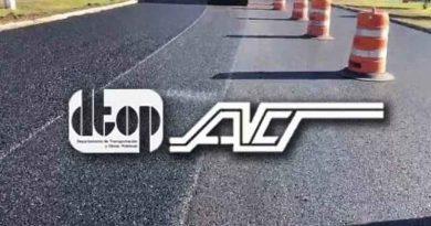 Trabajos, Carretera, DTOP, ACT