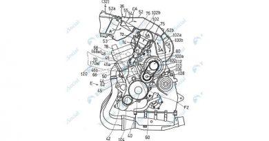 El motor de Kawasaki con doble inyección y sobrealimentación