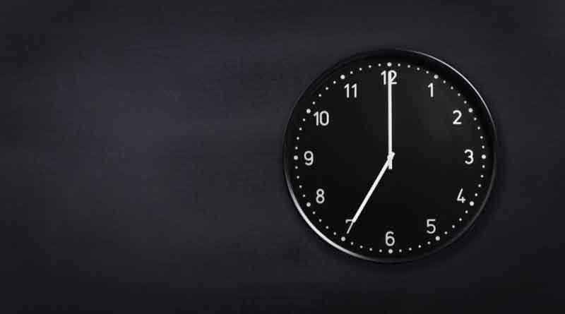 Toque de Queda, Relog, Tiempo