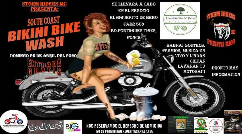 South Coast Bikini Bike Wash