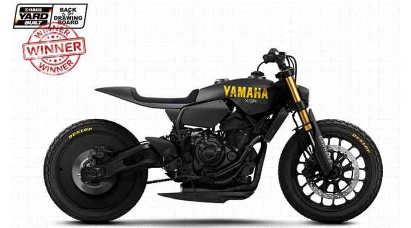 Yamaha XSR700 'Disruptive'