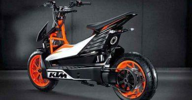 El scooter eléctrico KTM