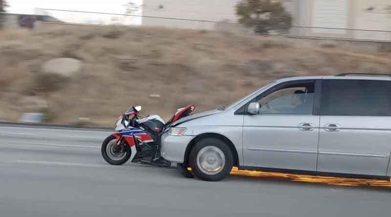 Atropella Motorista, Fuga