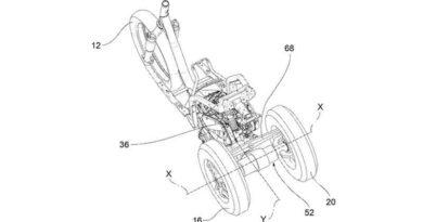 Nuevo proyecto de un Piaggio de tres ruedas… pero ahora, con dos detrás