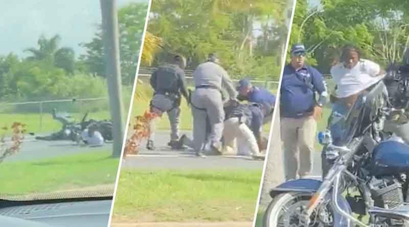 Motociclista Arrestado