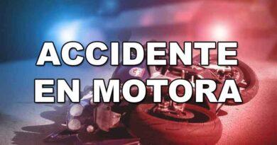 Accidente en Motora, Motocicleta