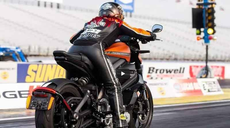 Harley Livewire Dragster