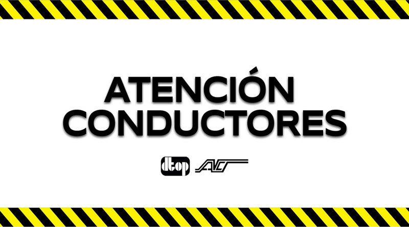 Atención Conductores, DTOP, ACT
