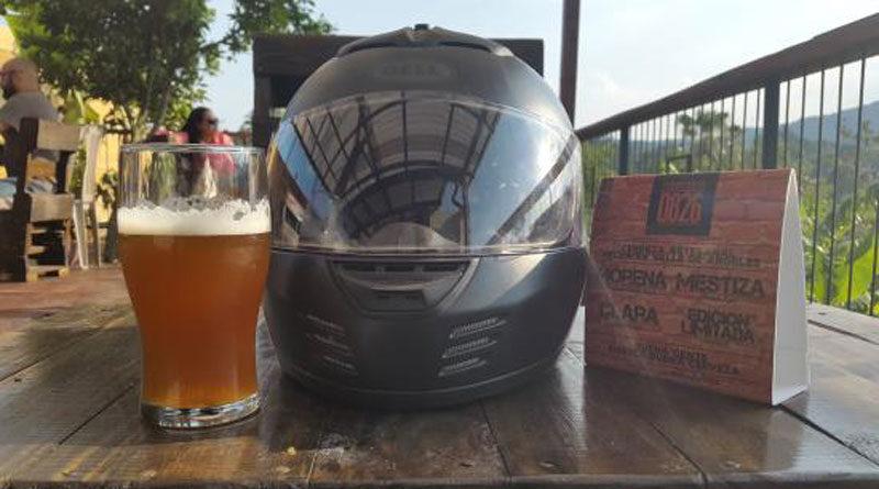 Cerveza y Casco
