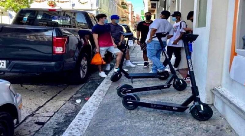 Scooters Viejo San Juan