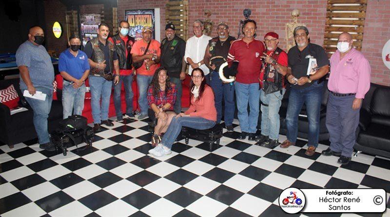 Reunión de líderes Bikers con la CST