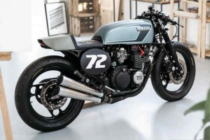 yamaha xj600 cafe racer by the foundry motorcycles 1