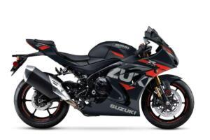 Suzuki GSX-R1000R 2022 negra/rojo
