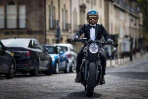 Triumph y The Distinguished Gentleman's Ride en Bath (Reino Unido)